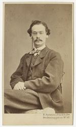 Porträtt av ingenjör Carl Henrik Wrede.