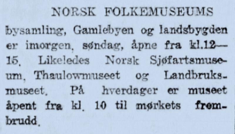 Morgenbladet 1932 (Foto/Photo)