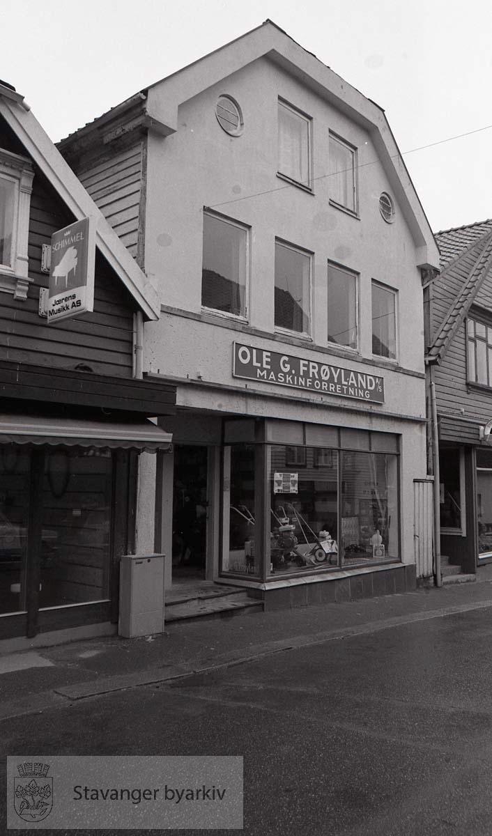 Ole G. Frøyland Maskinforretning