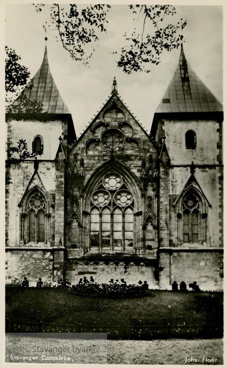 Domkirken, østfronten.