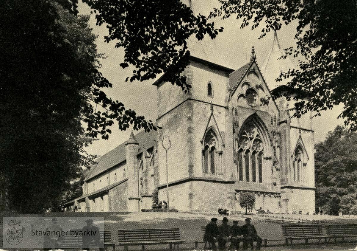 Domkirken, østfronten fra sør.