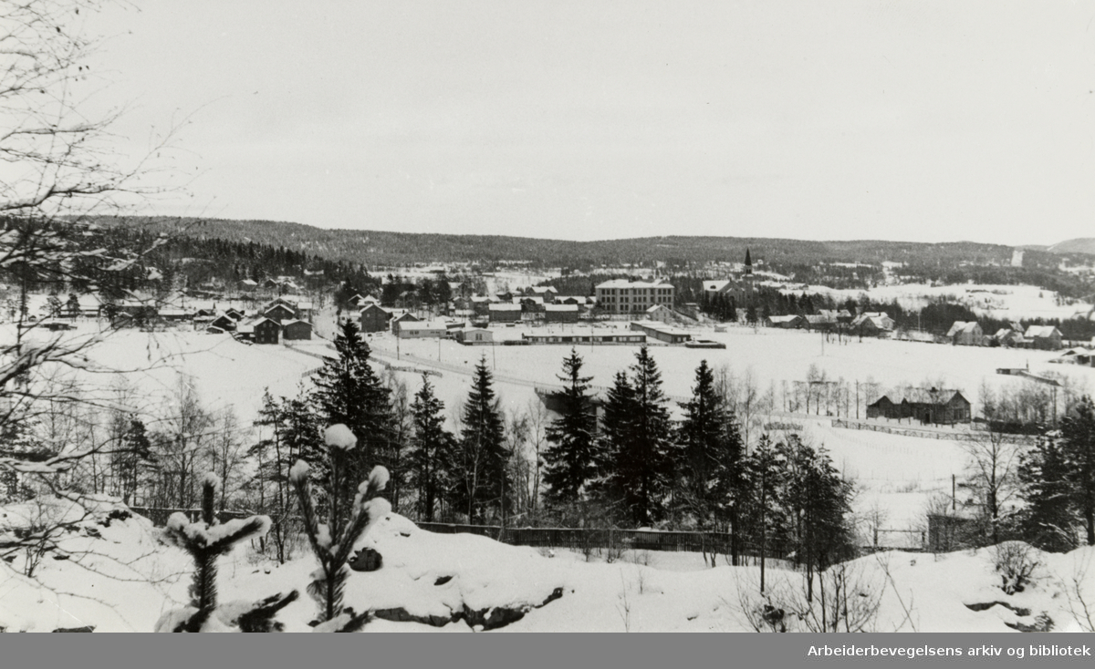 Grorud før utbyggingen. 1946