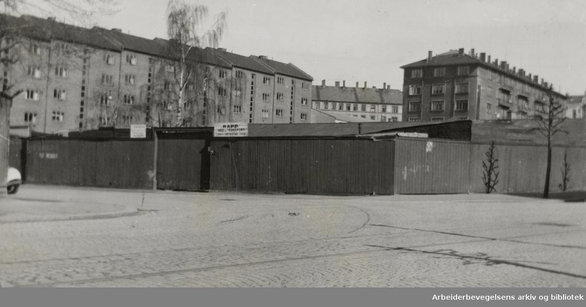 Grünerløkka. Juni 1947