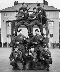 Södermanlands regemente, 1. beredskapsplutonen 1989