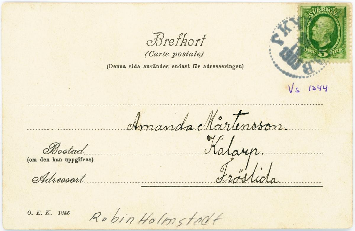 Elfsborgs läns Dövstumskola, senare Vänerskolan