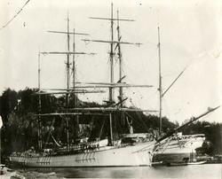 Bark 'Galathea' (b.1879, A. F. Smith (Martin Eldrup), Saghol