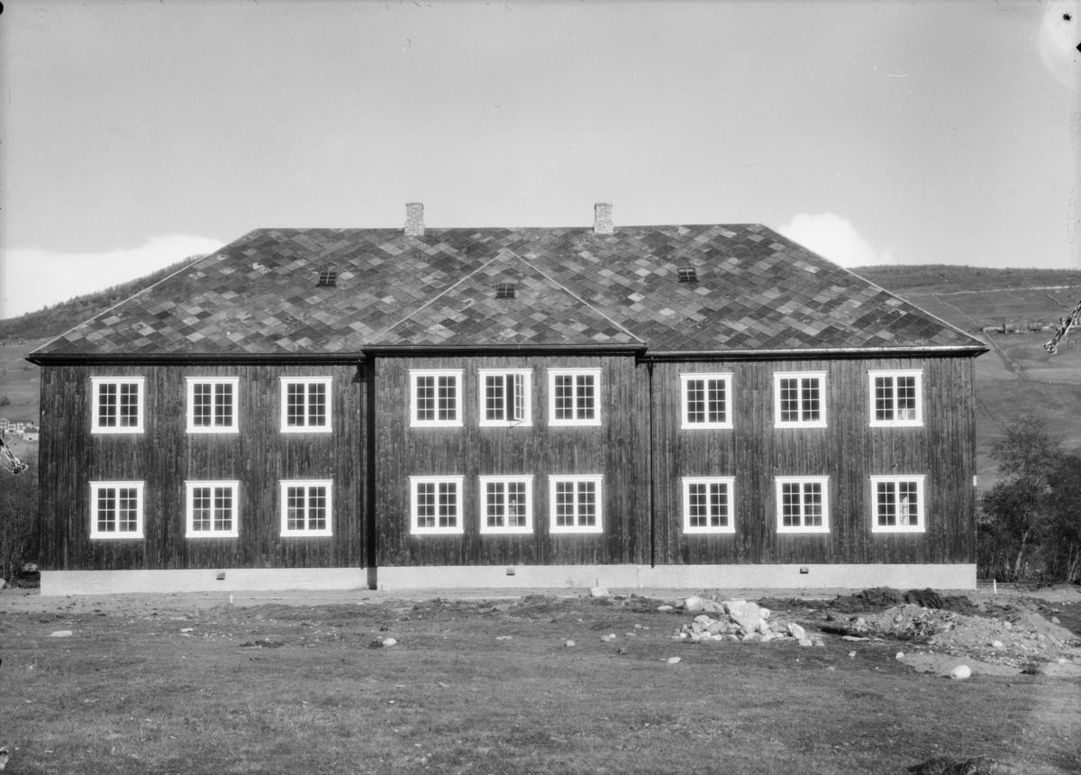 Dovre, nyoppsatt nedre bygning ved Hjerleids Minne. Tatt i bruk 1929