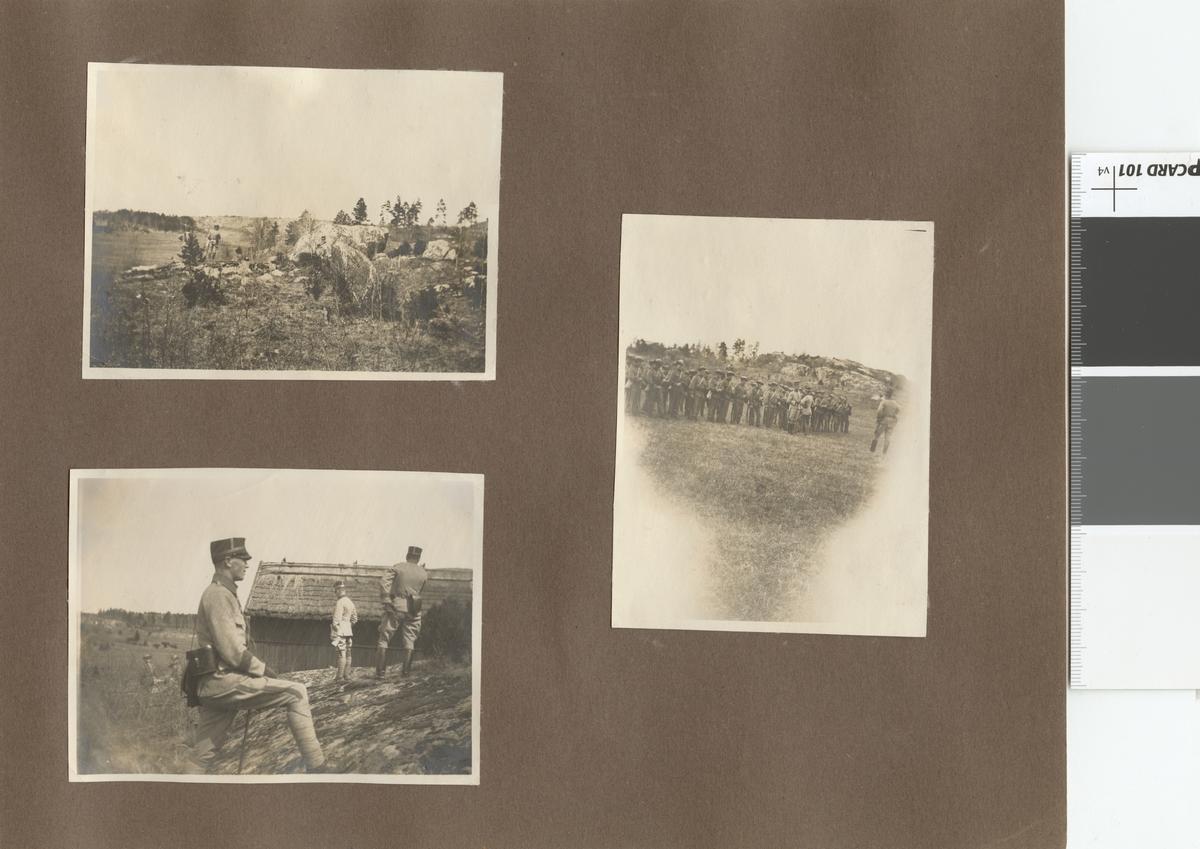 Soldater på fält.