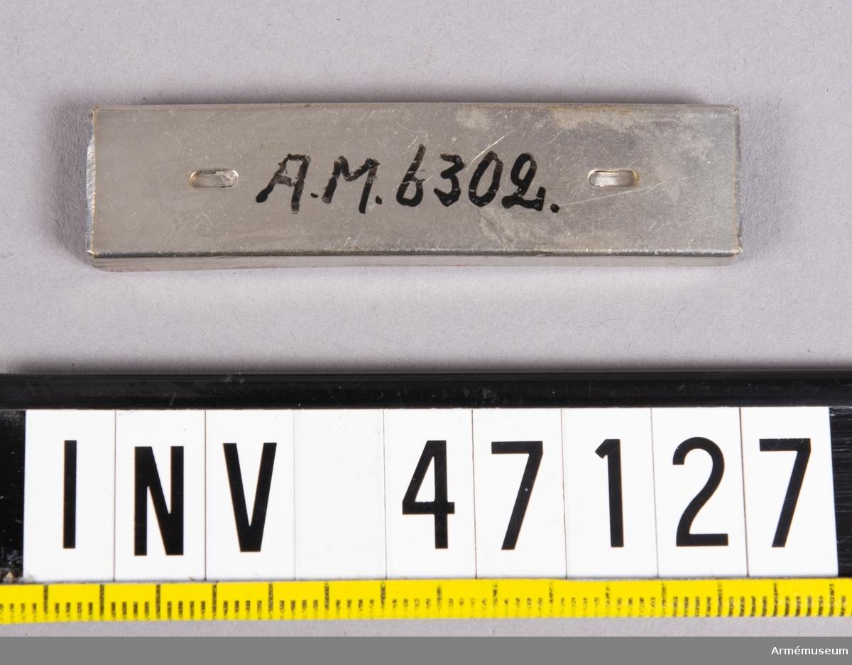 Grupp E V. Till 7 mm gevär fm/1893 av Mauser konstruktion.