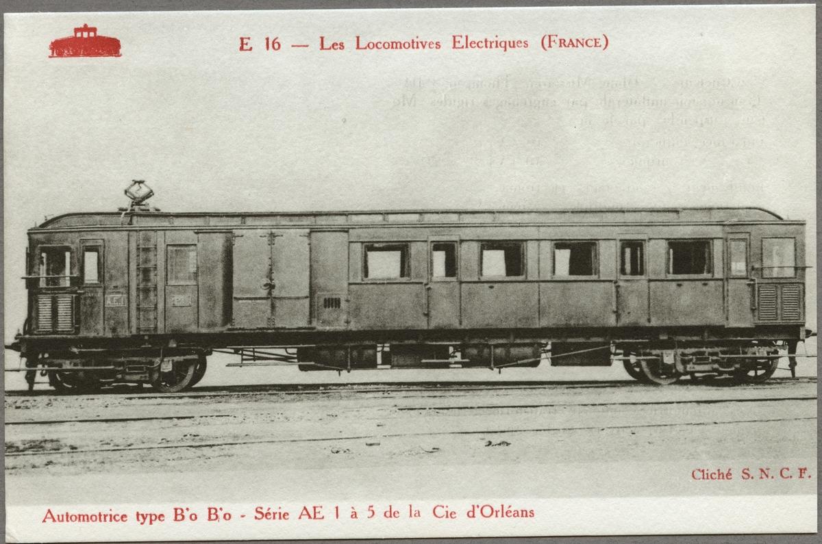 Compagnie du chemin de fer de Paris à Orléans, PO AE 1.