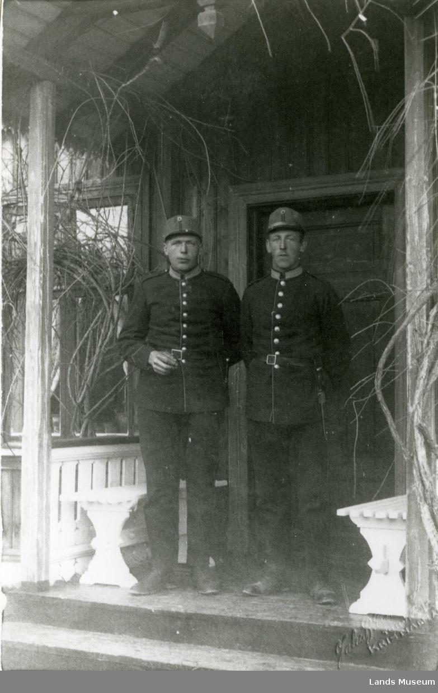 Ragnvald Bakke og Kasper Foss