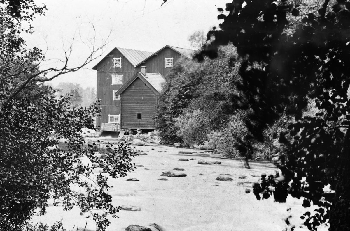Avfotograferad bild av Höjens kvarn