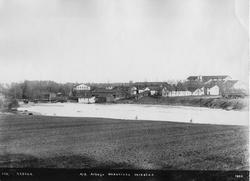 Arboga Mekaniska Verkstad 1895. Området sett från södra sida