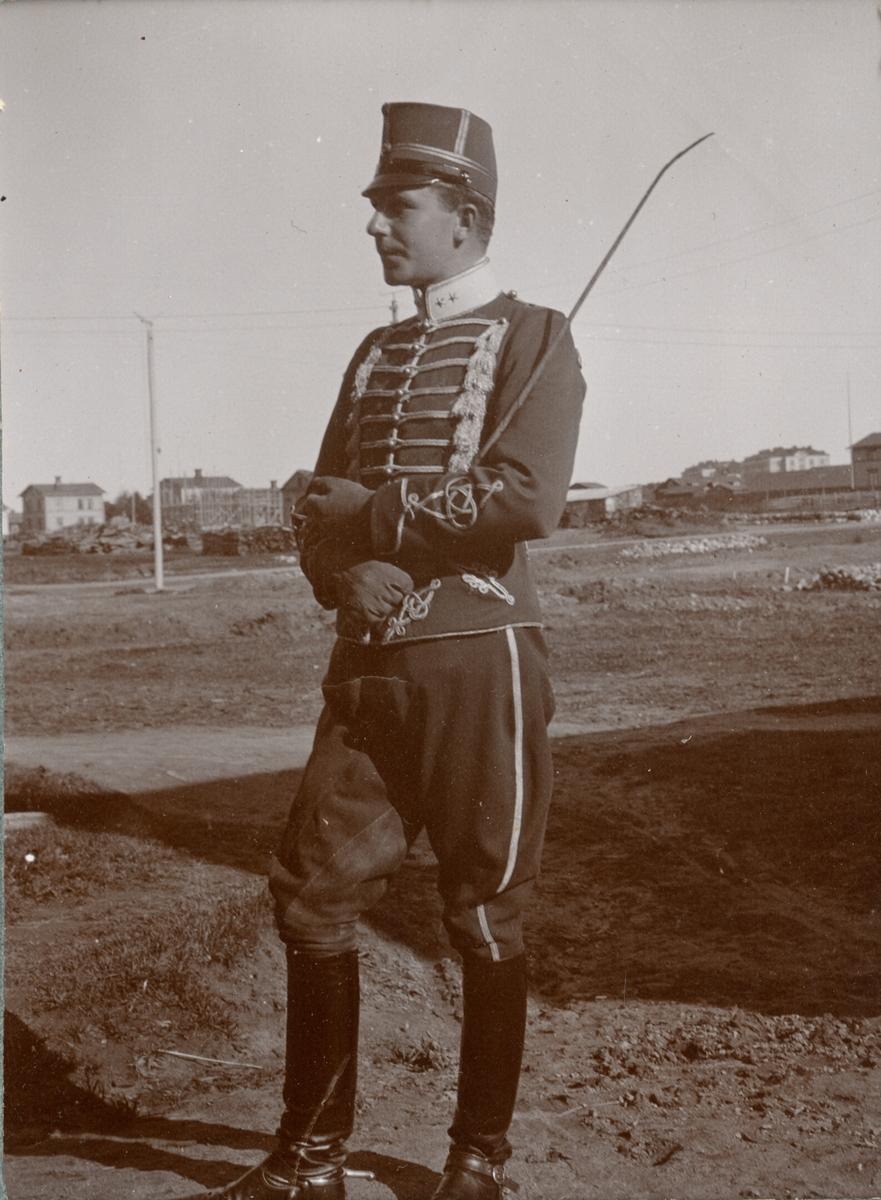 Soldat från Kronprinsens husarregemente K 7.