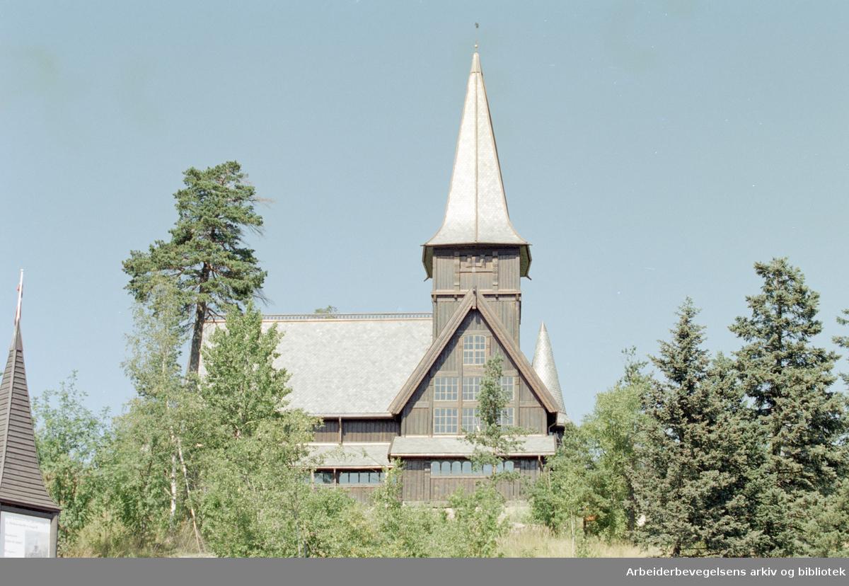 Oslo: Holmenkollen kapell. 5. august 1996