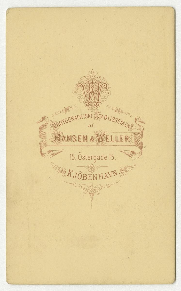 Porträtt av okänd kapten vid Wendes artilleriregemente A 3.