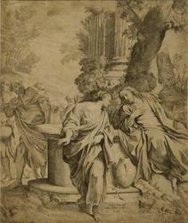 Rebekka og Kristus ved brønnen