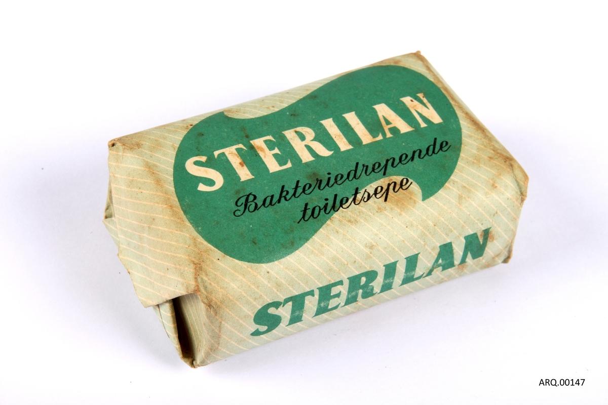 Såpestykke av merket Sterilan.