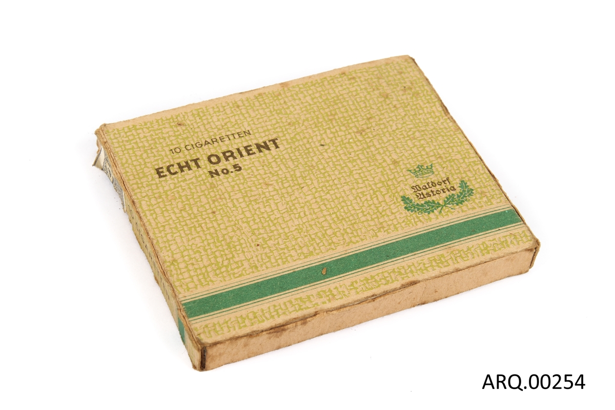 Sigaretter i original emballasje