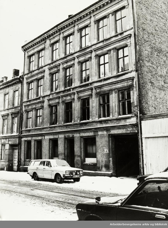 Kongsberggata 16. Januar 1980