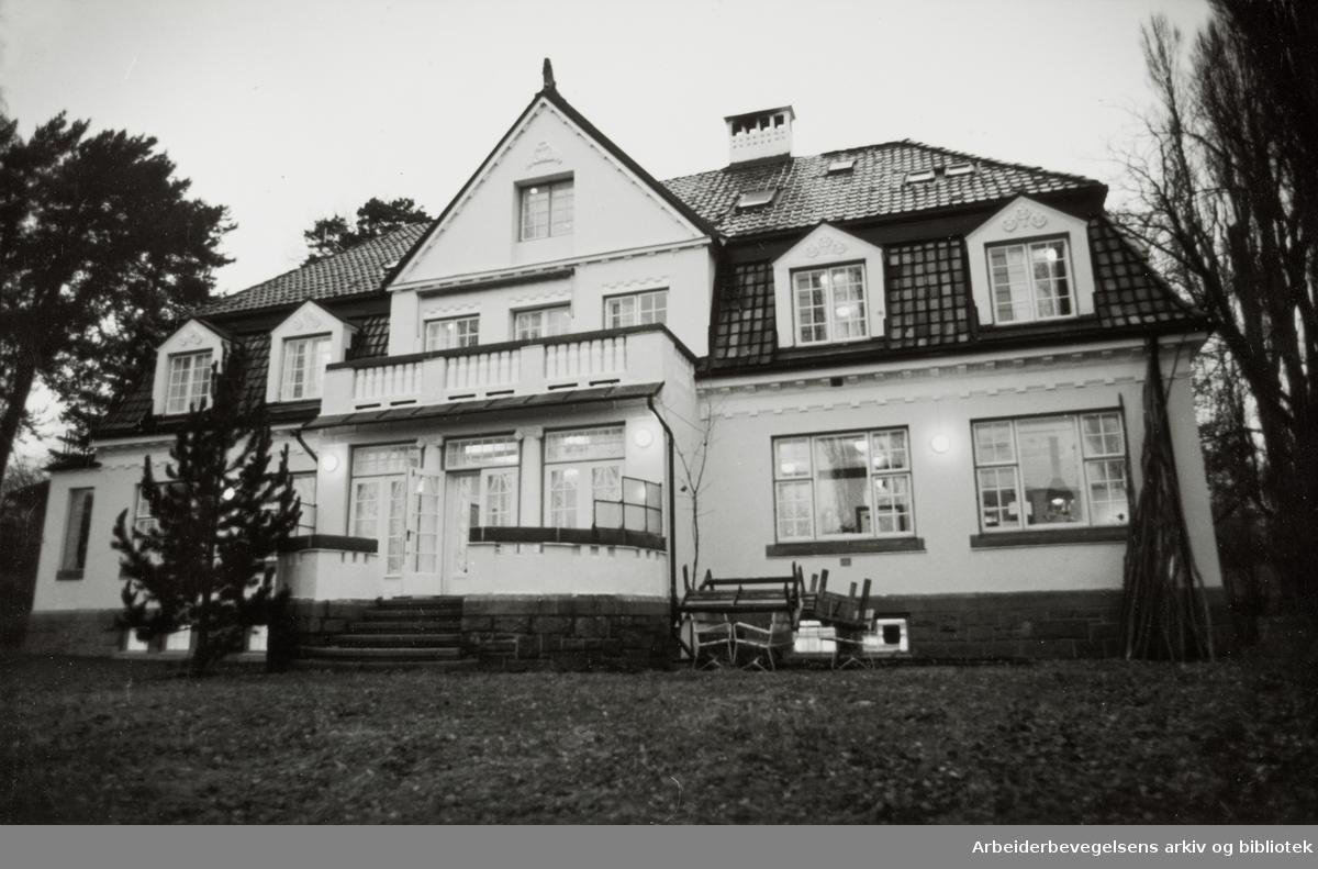 Kristinelundveien 2. November 1993