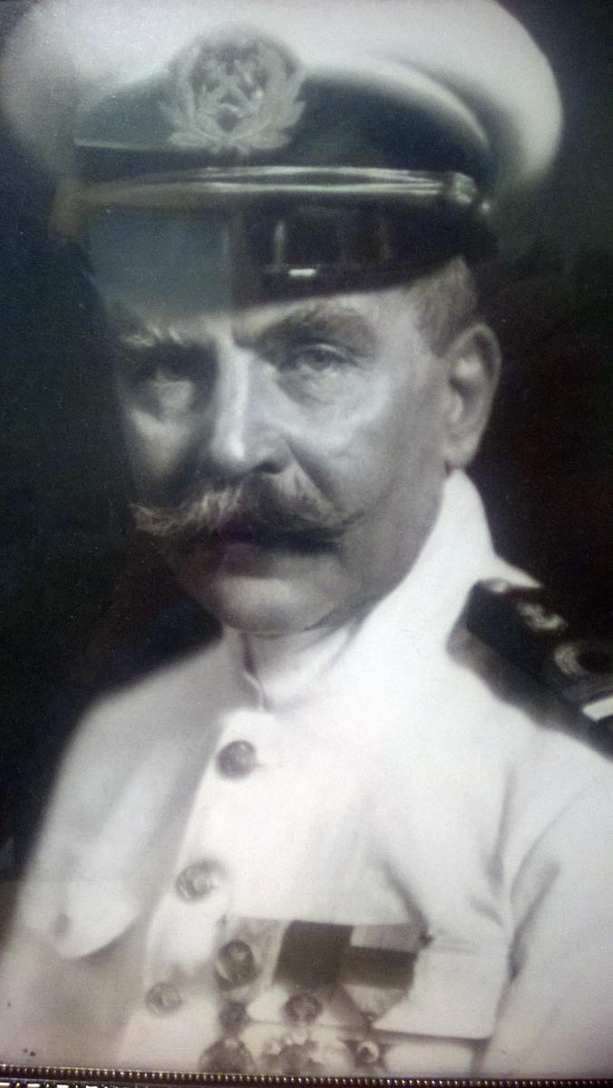 Norsk skipskaptein som samlet arbeidet 36 år i Fristaten Kongo og Belgisk Kongo.
