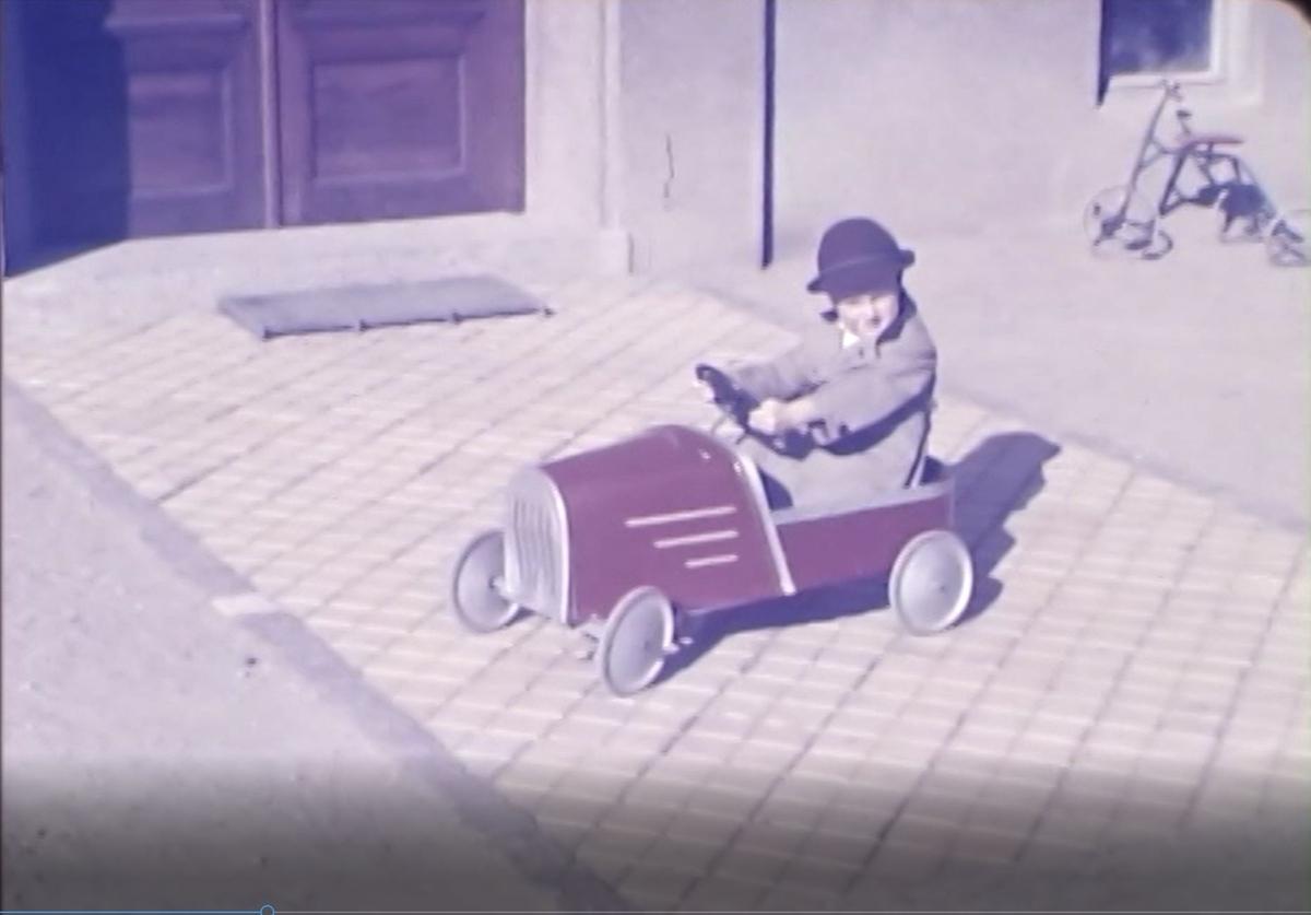 Göran med trampbil