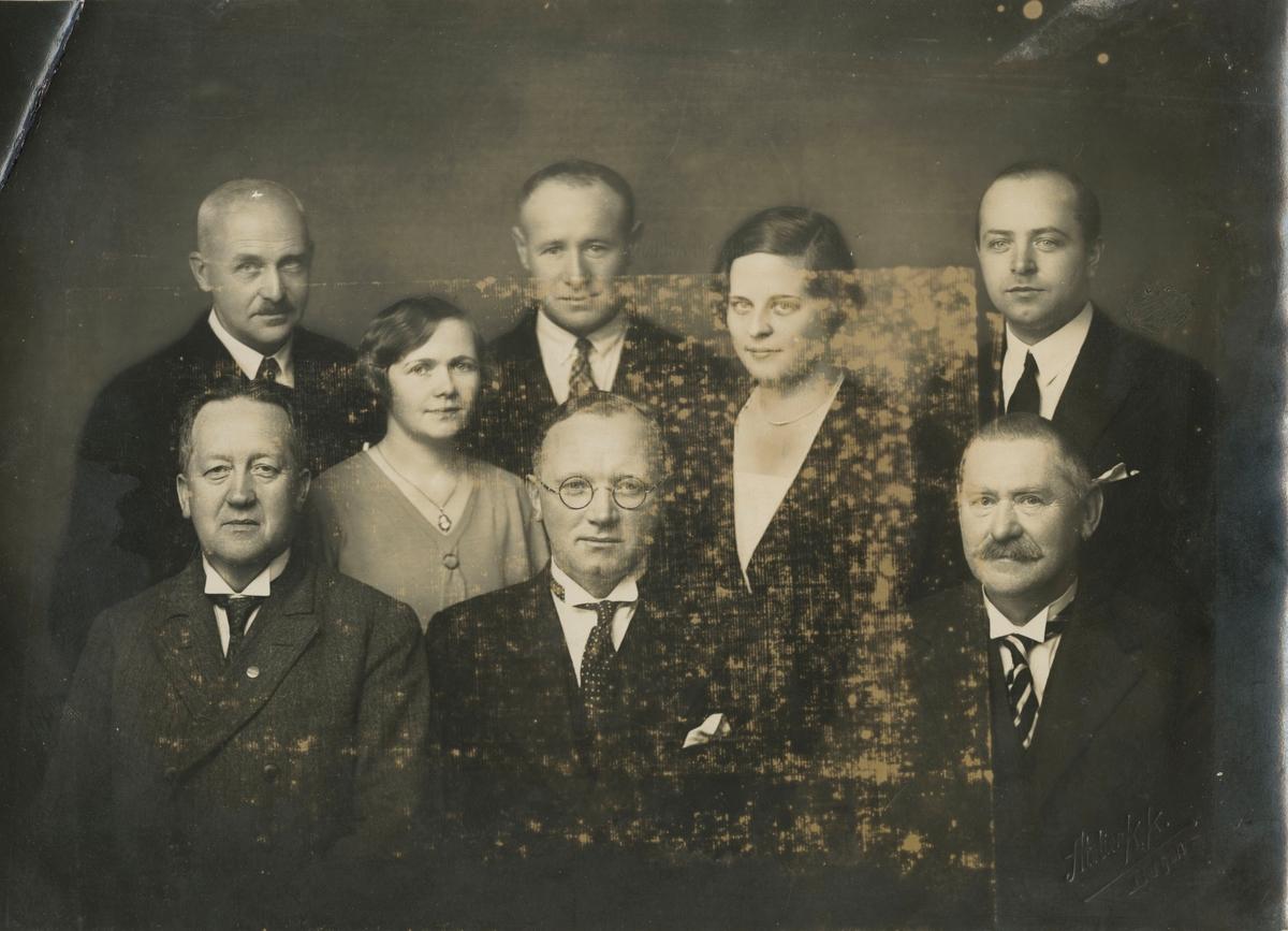 Funksjonærer i Bergens Assuranseforening, ca 1930.