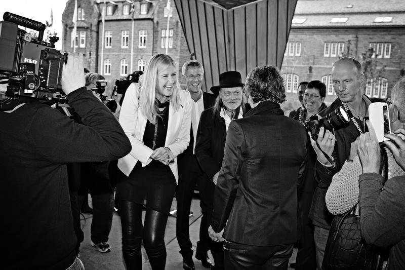 Anne Grete Preus fra innlemmelsen i Rockheim Hall of Fame i 2013. Foto: Rockheim. (Foto/Photo)