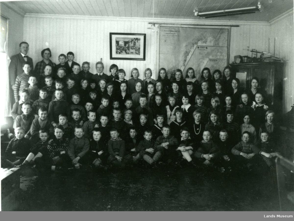 Vestheim skole, 1930