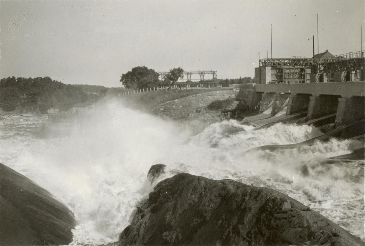 Vattenkraftstation.