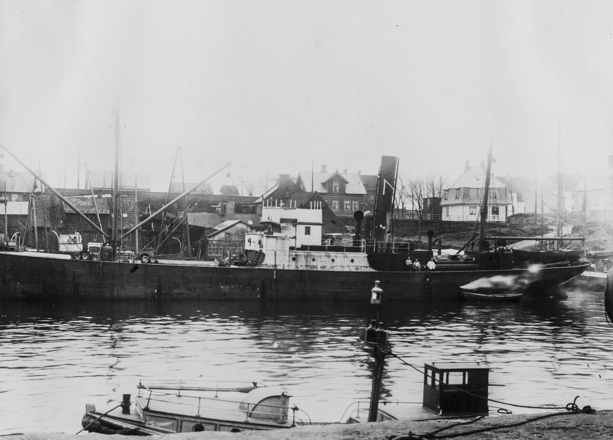 Smedasundet sett mot vest, ca. 1912.