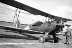 Flygplan, dubbeldäckare. Sk 12.