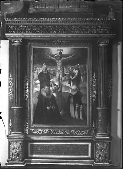 Epitafium över Gerdt Hanson Körner och hans hustru, Västerås Domkyrka.