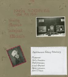 Minnen från luftbevakning i Tellejåkk under beredskapen, 194