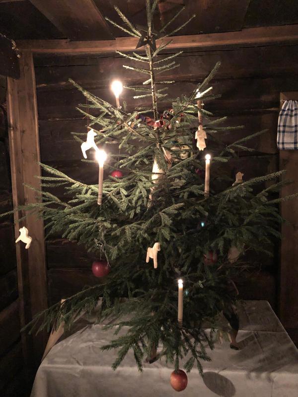 Juletre i Vestaberg