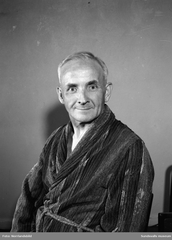 Porträttfoto, J.A. Moberg, Sallyhill.