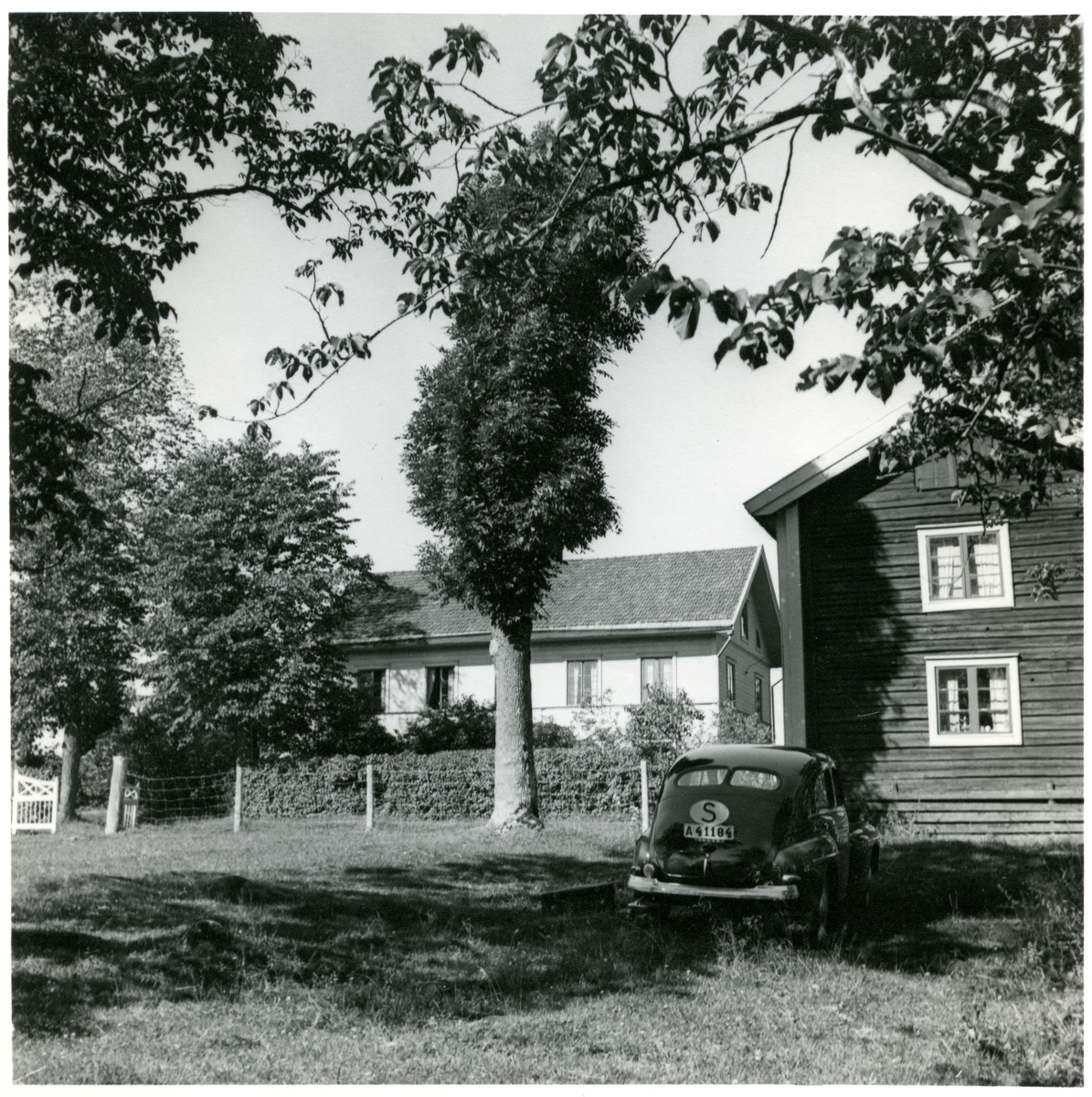 "Norberg sn, Norberg, Lilla Bråfors. ""Hedlunds gård"". 1950."