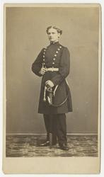 Porträtt av Axel Wilhelm Palme, underlöjtnant vid Andra livg