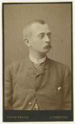 Porträtt av Anders Hugo Levin, officer vid Andra livgrenadjä