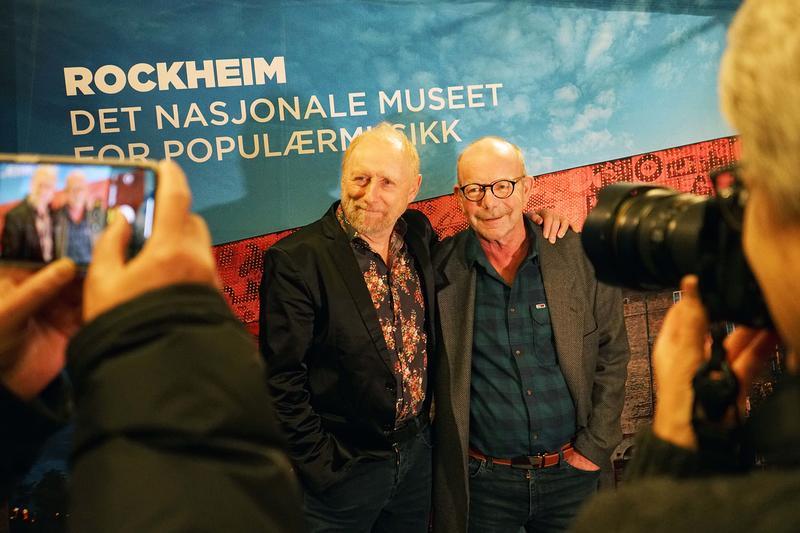 Halvdan Sivertsen (fv) og Jonas Fjeld på Rockefeller. (Foto/Photo)