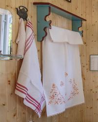 Håndklehytte, trolig laget av Ole Persen.