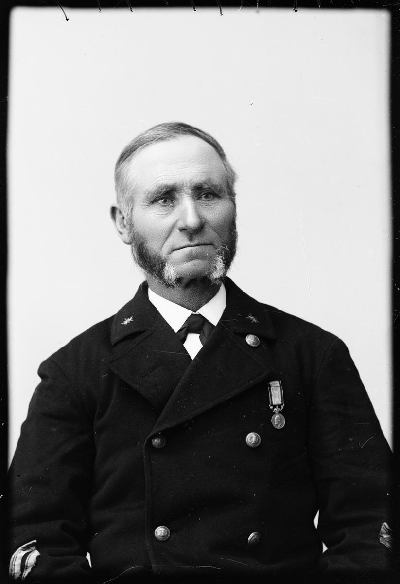Fyrmästare Carl Magnus Alm från Öregrund, Uppland