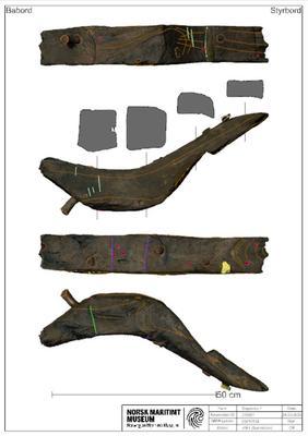 2D-presentasjon av skan med tekstur i Rhino3D (Foto/Photo)