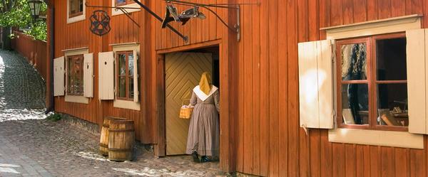 <p>Skansen är världens äldsta friluftsmuseum. Här får historien liv, välkommen!</p>