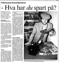 Aftenposten 22. februar 1995