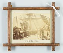 Korvetten BALDERS besättning år 1882