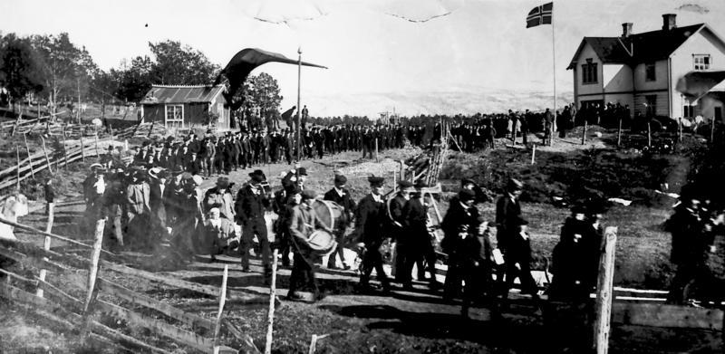 1.mai Folldal 1908. Foto/Photo
