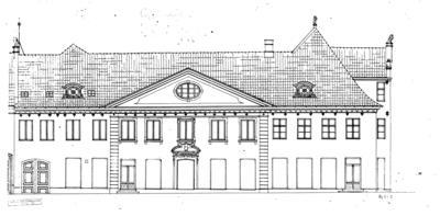 216 Bygård fra Kirkegata 15 Colletgården. Foto/Photo