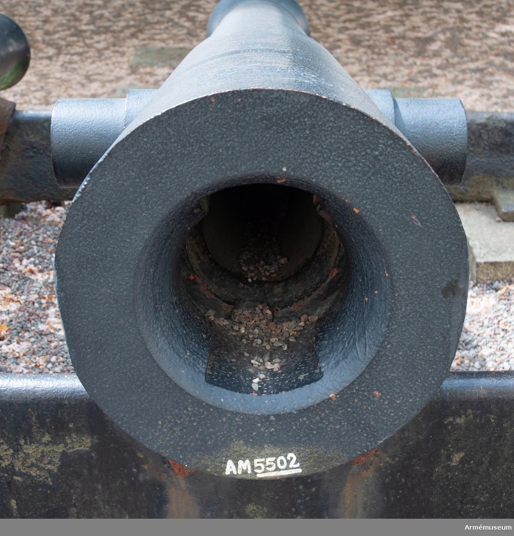 1830-tal, Wahrendorffs försöksmodell. Tappens d: 120 mm, inga  märken eller stämplar.